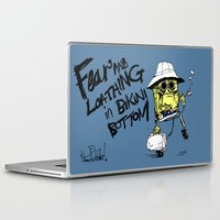 fear and loathing Laptop & iPad Skins featuring Fear and Loathing in Bikini Bottom by thunderbloke!