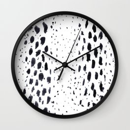 Brushed Wild Wall Clock