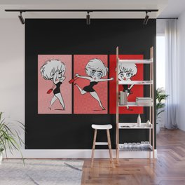 Who's That Girl | Pop Art Wall Mural