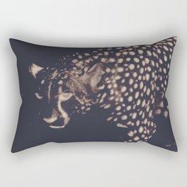 Night cheetah Rectangular Pillow