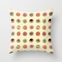 sushi balls Throw Pillow