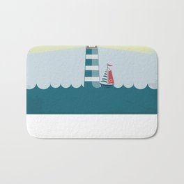 Sea Tower Bath Mat
