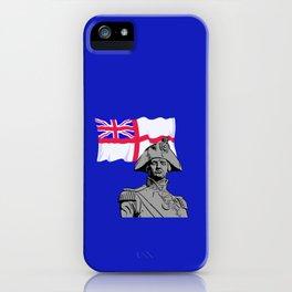 Horatio Nelson - British Hero iPhone Case