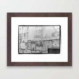 New York City Flea Market Framed Art Print