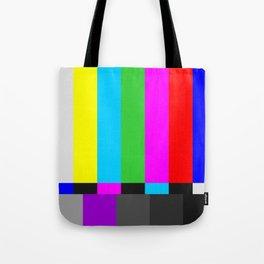 Television Station Sign-off Tote Bag