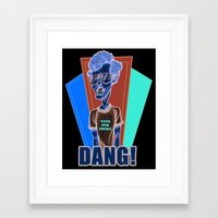 napoleon dynamite Framed Art Prints featuring Napoleon Dynamite by Michael Duhamel