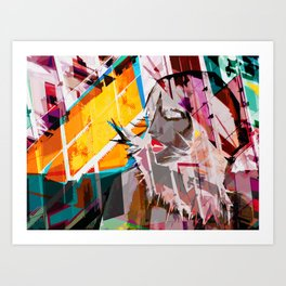 Reflect yourself Art Print