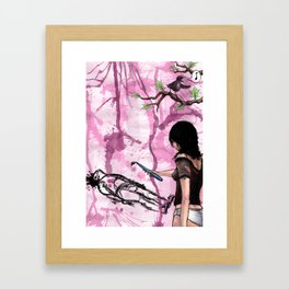 makin it with bots Framed Art Print
