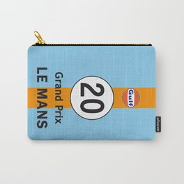 Steve McQueen - Le Mans Grand Prix variation iPhone 4 5 6, ipod, ipad case Samsung Galaxy Carry-All Pouch