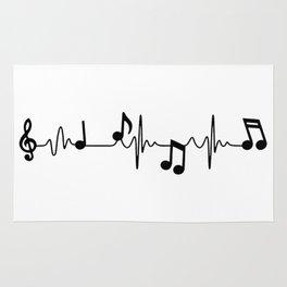 MUSICAL HEART BEAT Rug