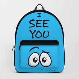 I See You - Cool Blue Backpack