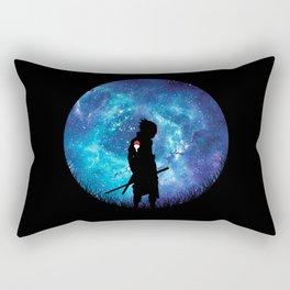 Sasuke Silhouette Uchiha Rectangular Pillow