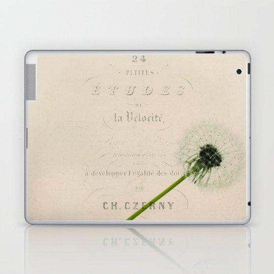 a dandelion Laptop & iPad Skin