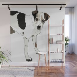 Jack Russell Terrier Dog Wall Mural