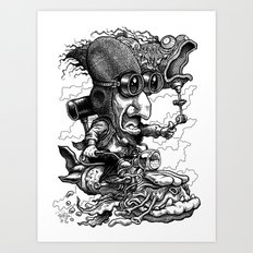 CRUISIN' Art Print