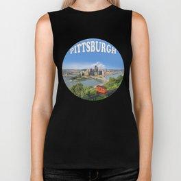 Pittsburgh Biker Tank