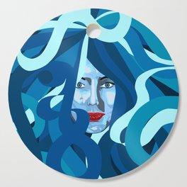 Blue Cutting Board
