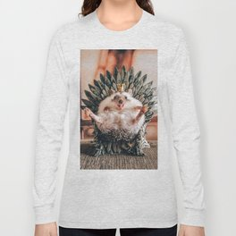 King of hedgehog Long Sleeve T-shirt