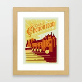 Chenonceau Framed Art Print