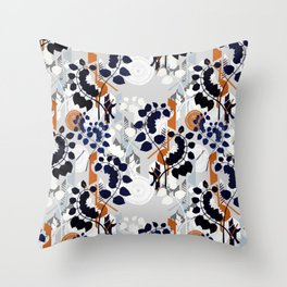 Collage pattern I  Throw Pillow