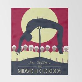 Midwich Cuckoos Design Throw Blanket