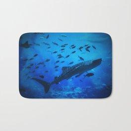 A Whale of a Teacher Bath Mat