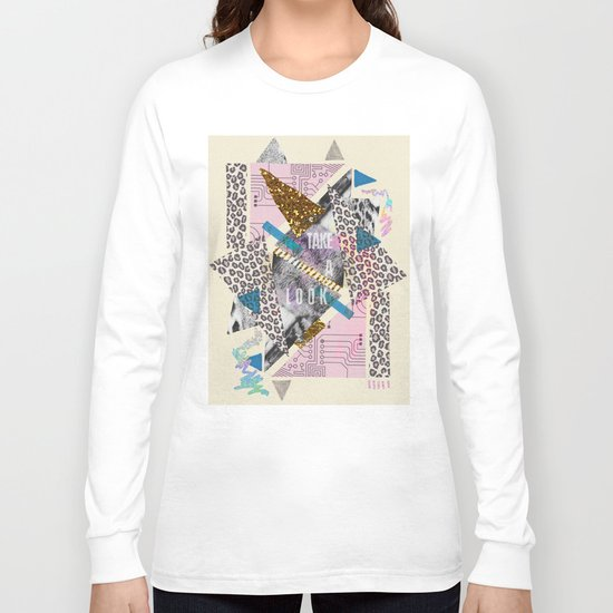 (DREAMER) Take A Look  Long Sleeve T-shirt