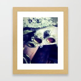 Gear Box Framed Art Print