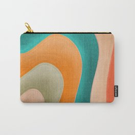 Abstract Pastel Pattern Carry-All Pouch