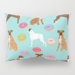 Boxer donuts cute gifts for pure breed dog lover Boxers dog owners Pillow Sham