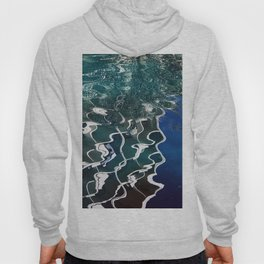 Abstract Lyrical Pond Waters Hoody