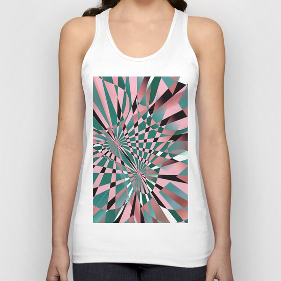 lost in reflections Unisex Tank Top