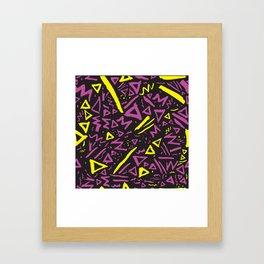 Dallas 1990s Framed Art Print
