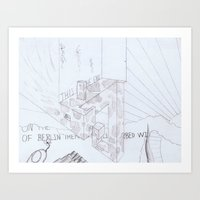 Pencil - 0004 - Berlin Art Print