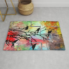 The Crows Rug