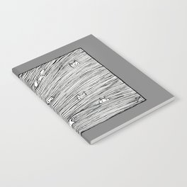 Separated grey Notebook