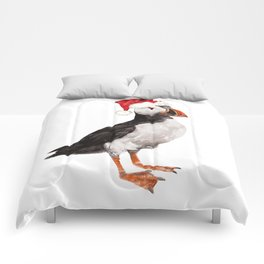 Christmas Puffin Comforters