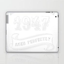 Vintage-1947---70th-Birthday-Gift-Idea Laptop & iPad Skin