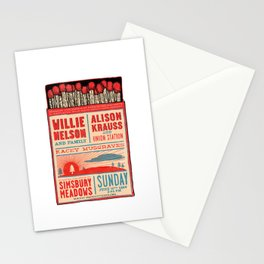 Willie Nelson And Family   Stationery Cards