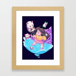 Bee and Puppycat- Dream Framed Art Print