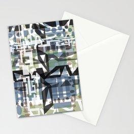 Geo Mod Stationery Cards