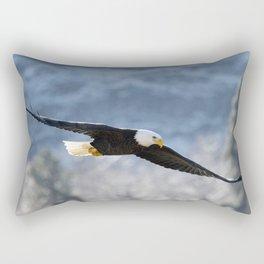 Frosty Glide Rectangular Pillow