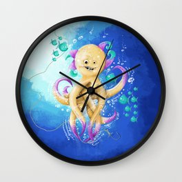 OCTOPUS MONSTER Wall Clock