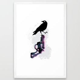 Death on Death Framed Art Print