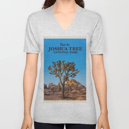 Visit the Joshua Tree National Park Unisex V-Neck