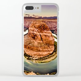 Horseshoe Bend Grand Canyon Arizona Clear iPhone Case