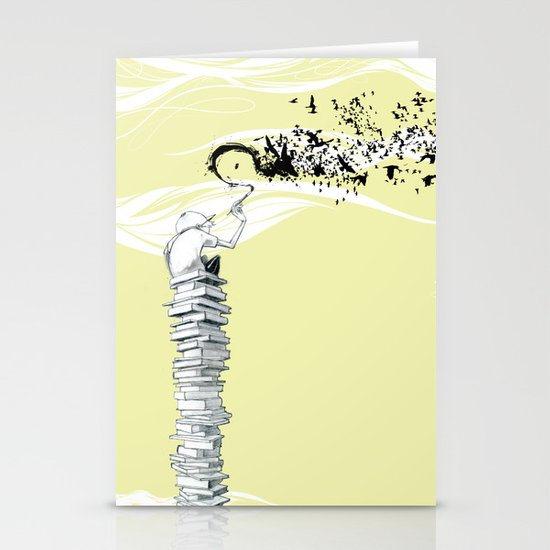 "Glue Network Print Series ""Education & Arts"" Stationery Cards"