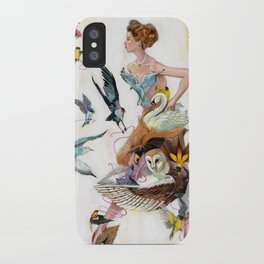 Lady of Spring iPhone Case