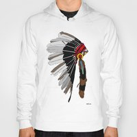 native Hoodies featuring Native  by weliketrees