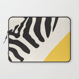 Zebra Abstract Laptop Sleeve